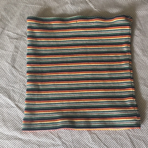 377d4c8b36 Brandy Melville Tops - Brandy Melville rainbow Tube Top